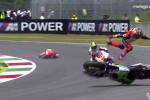MotoGP Mugello 2014 -- Biggest crashes