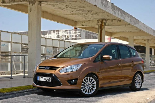 Ford C-MAX Ecoboost 125 PS caroto test drive 2014 (9)