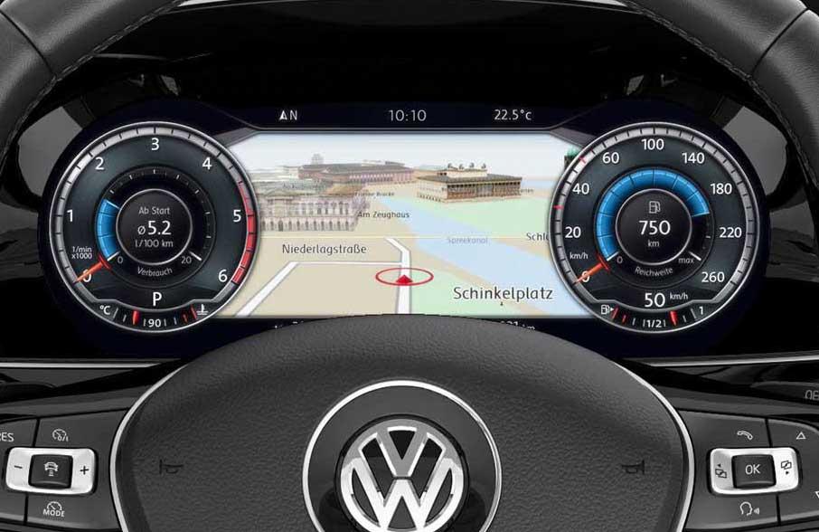 Photo of Ο ψηφιακός πίνακας του νέου VW Passat [vid]