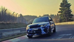 2015 Range Rover Sport SVR becomes fastest SUV on Nurburgring
