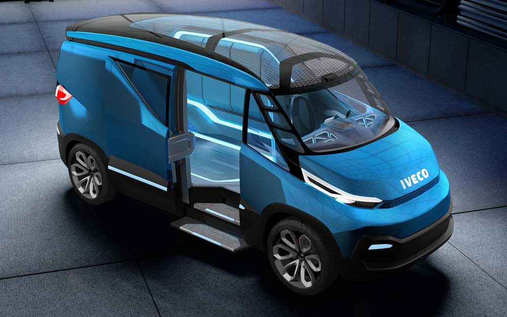 Photo of To όραμα της Iveco μέσα από το Vision Concept