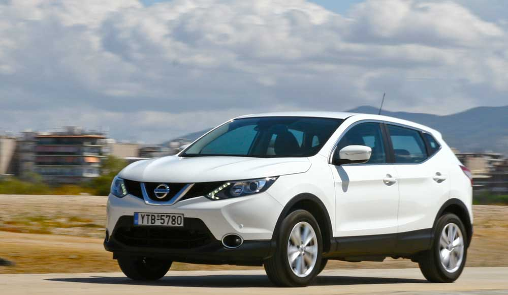 nissan qashqai 1 6 dci 4x2 test drive. Black Bedroom Furniture Sets. Home Design Ideas
