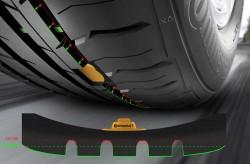 Continental In-Tire Sensors Read Tread Depth
