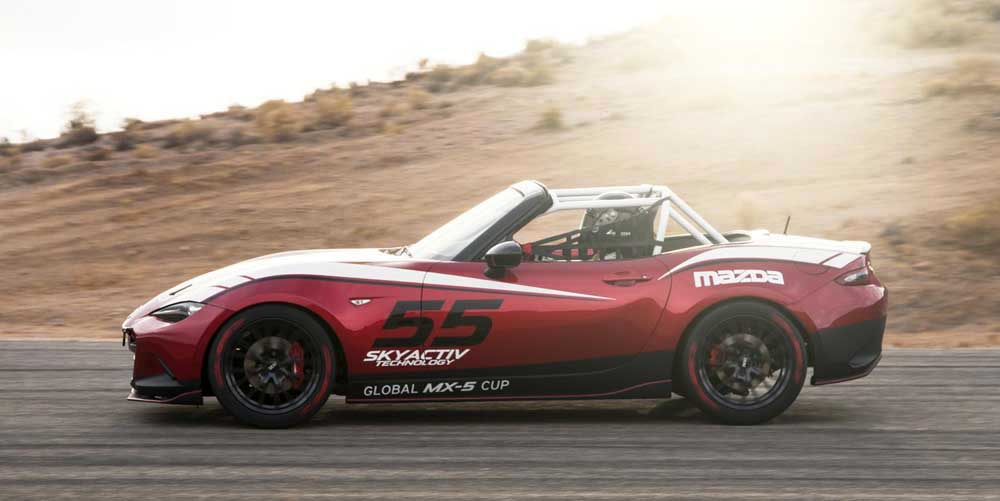 Photo of Το αγωνιστικό Mazda Global MX-5 Cup στο Λας Βέγκας
