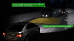 Toyota LED Array Adaptive High Beam System HD  (4)