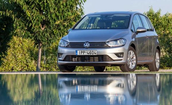 VW Sportsvan TSI 110PS DSG caroto test drive 2014 (2)