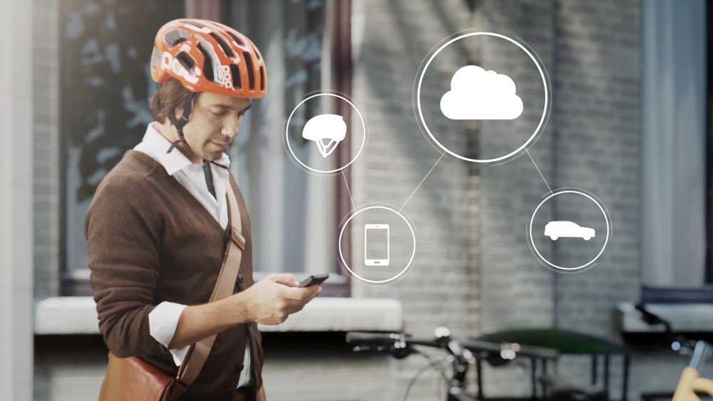 Photo of Πρωτότυπο έξυπνο κράνος για ποδηλάτες