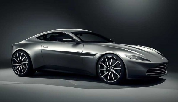 Aston Martin DB10 revealed for 24th James Bond movie called SPECTRE (1)