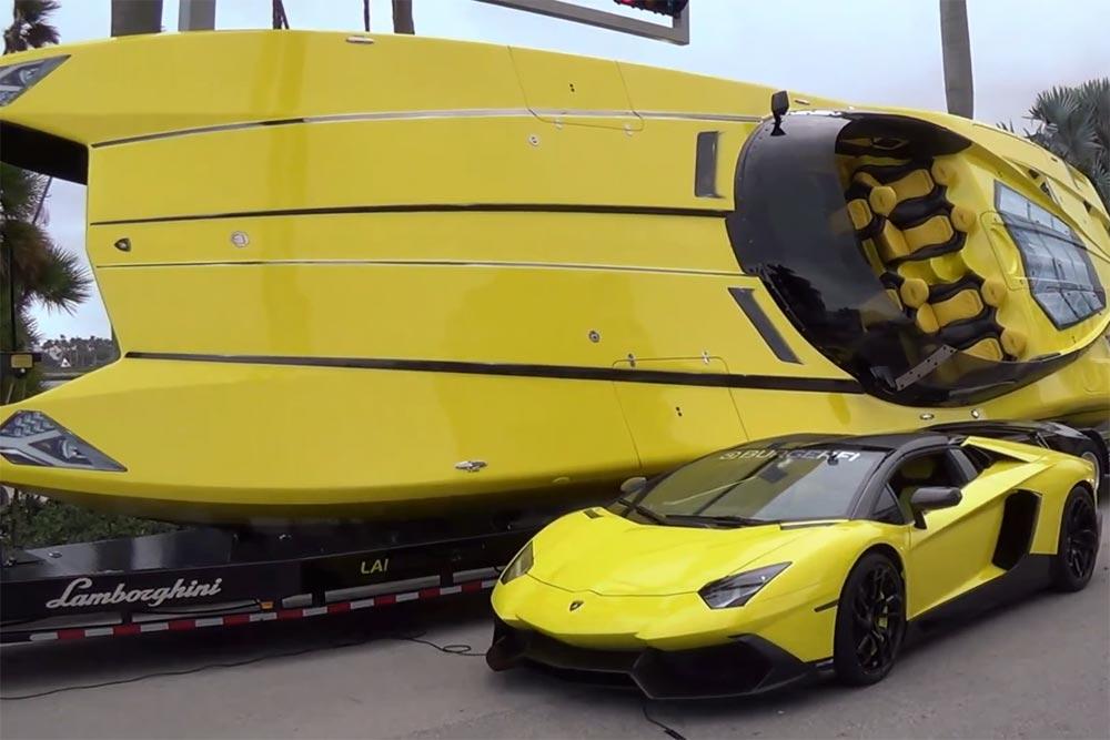Photo of Lamborghini Speedboat, η υπερβολή! [vid]
