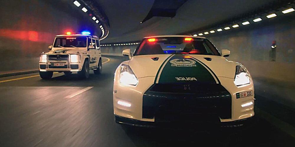 Photo of Η αστυνομία του Ντουμπάϊ δίνει το δικό της σόου [vid]