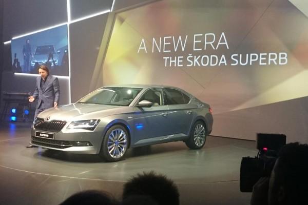 Νέο Skoda Superb!