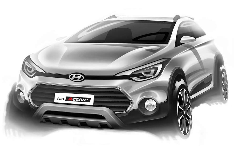 Photo of Τα πρώτα επίσημα σκίτσα του Hyundai i20 Active