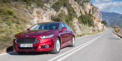 Ford Mondeo Ecoboost 160 PS caroto test drive 2015 (28)