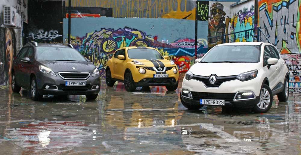 Photo of Nissan Juke – Peugeot 2008 – Renault Captur [test drive]