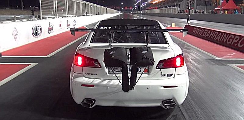 Πόσα δευτερόλεπτα χρειάζεται ένα Lexus για να πετάξει;