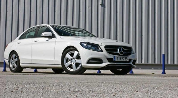 Mercedes-Benz C200 BlueTEC caroto test drive 2015 (4)