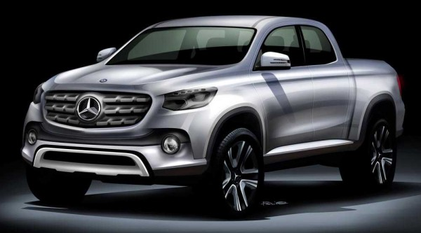 Mercedes-Benz: Έρχεται και pickup με το αστέρι στο καπό!