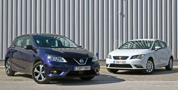 Nissan Pulsar vs Seat Leon caroto test drive 2015 (35)