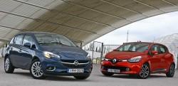 Opel Corsa vs Renault Clio diesel caroto test drive 2015 (20)