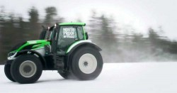 The Fastest Tractor New Guinness World Record, Juha Kankkunen -Nokian Heavy Tyres