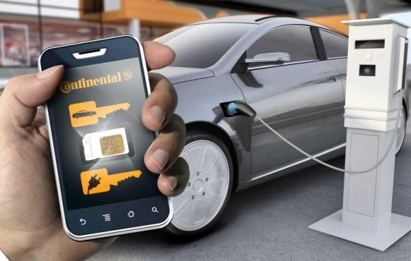 contintal-digital-car-key