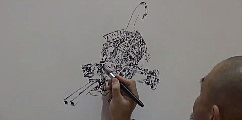 Photo of Σούπερ σταρ στα κόμικς σχεδιάζει κινητήρες [vid]