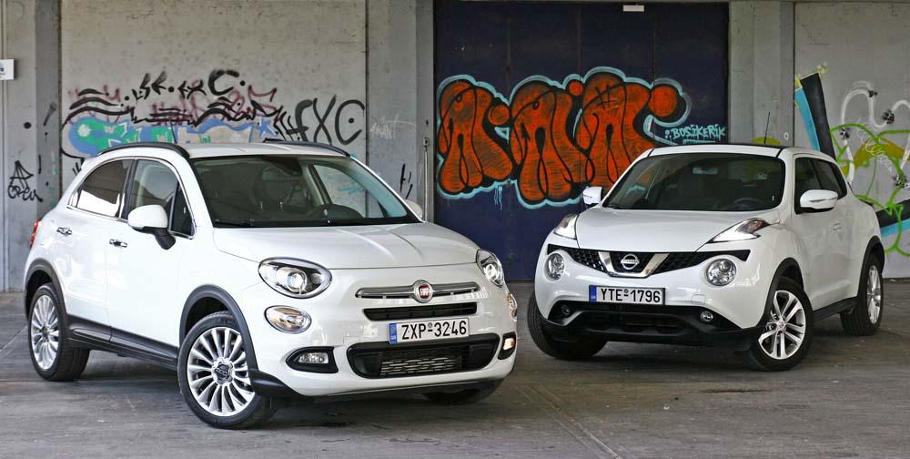 Photo of Fiat 500X 1.4Τ vs Nissan Juke 1.2T [test drive]