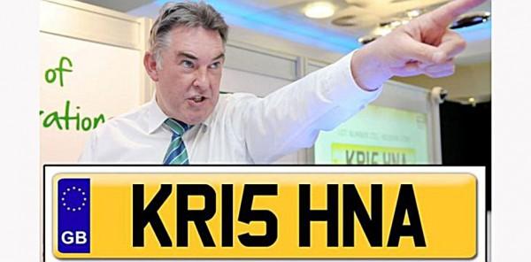 Plate-Number-KR15-HNA