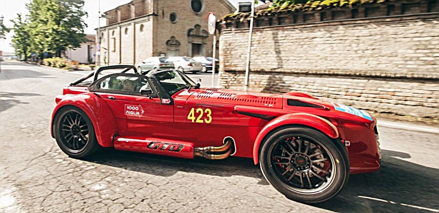 Photo of To Donkervoort D8 στο Mille Miglia
