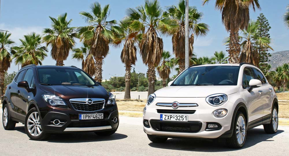 Photo of Fiat 500X 1.6 MTJ vs Opel Mokka 1.6 CDTi [test drive]