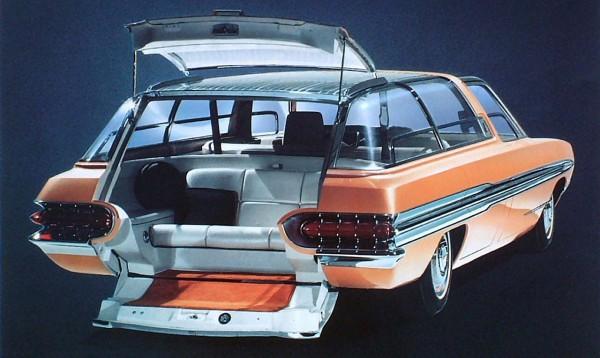 1964 Mercury Aurora Station Wagon Concept Car Rr Qtr