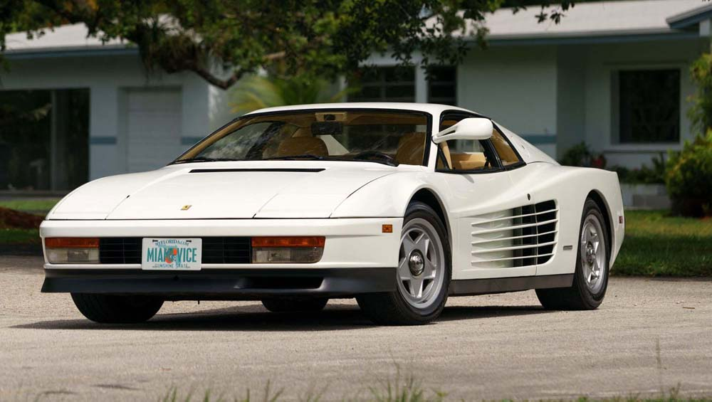 Photo of Ξανά στο σφυρί η Ferrari Testarossa του Miami Vice