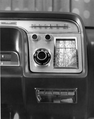 Ford Aurora concept Navigation System