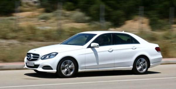 Mercedes-Benz E-Class Natural Gas caroto test drive 2015 (10)