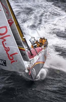 VOLVO OCEAN RACE 2014-15_ABU DHABI OCEAN RACING TEAM 1 (Photo Tomlinson)