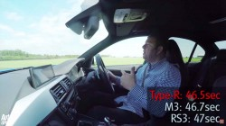 Can A BMW M3 Or An Audi RS3 Beat Honda Civic Type-R On Track