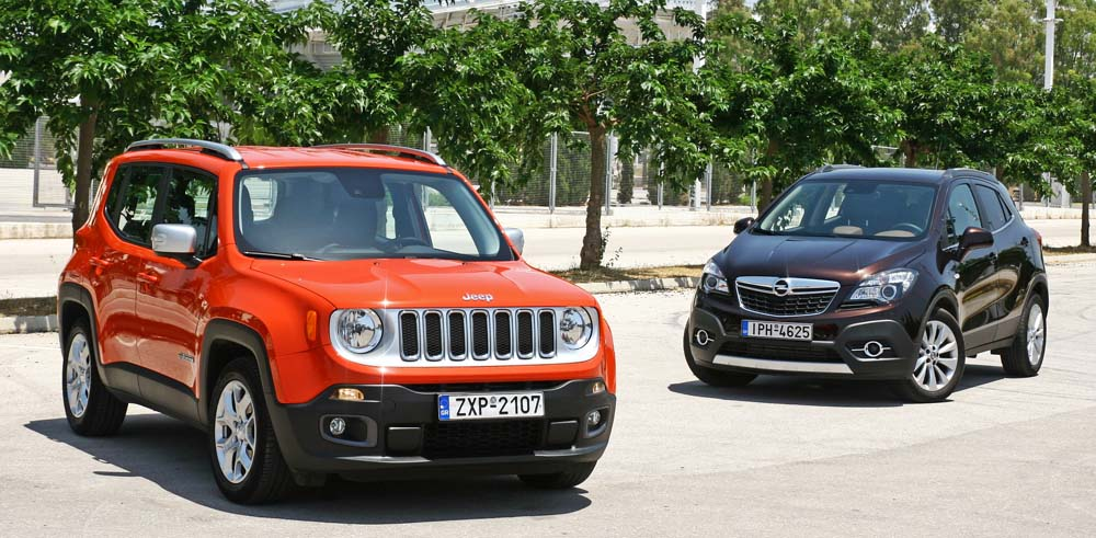 Photo of Jeep Renegade 1.6 MTJ vs Opel Mokka 1.6 CDTi [test drive]