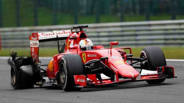 Photo of Έξαλλος ο Vettel μετά τον αγώνα στο Βέλγιο!