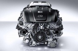 Mercedes-AMG twin-turbo 4.0-liter V8 engine