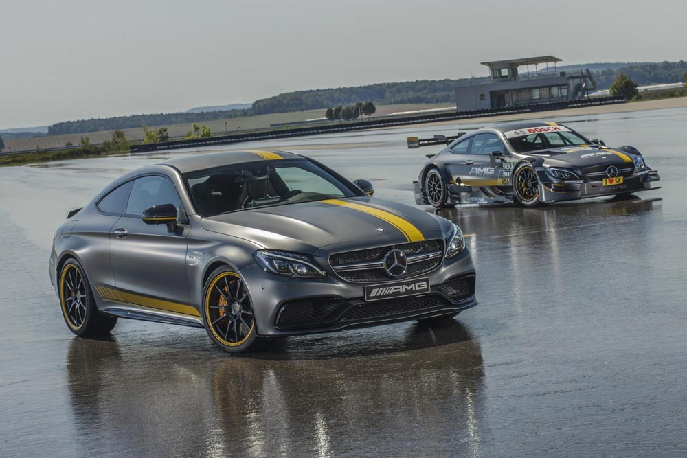 Photo of Mercedes-Benz C63 Coupe Edition 1