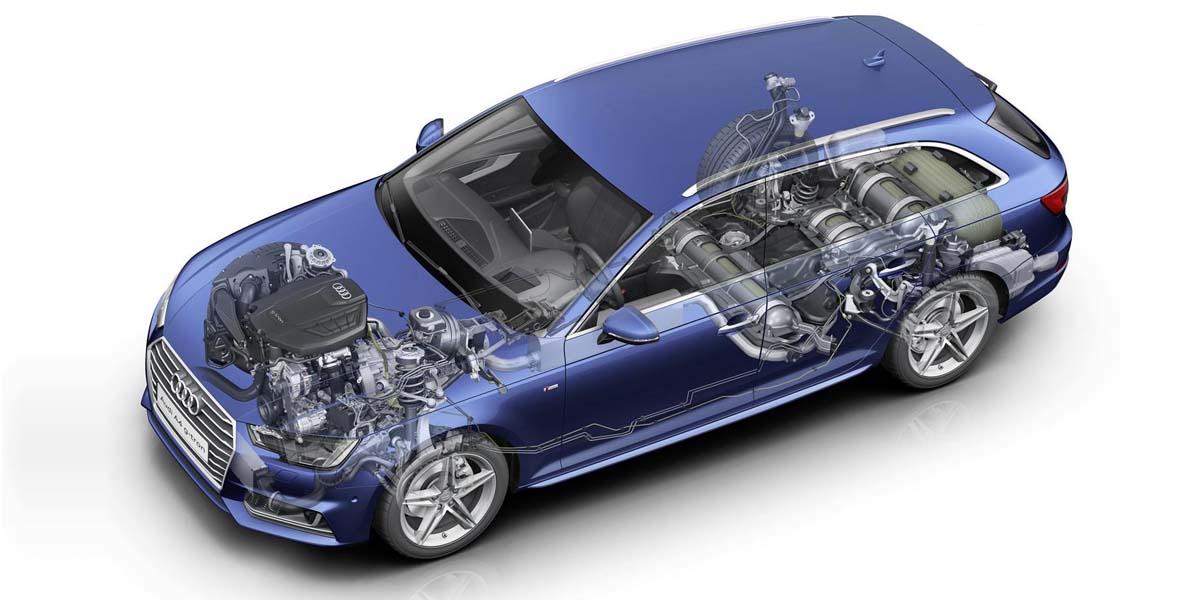 "Photo of Το μοναδικό Audi A4 που ""καίει"" CNG [vid]"