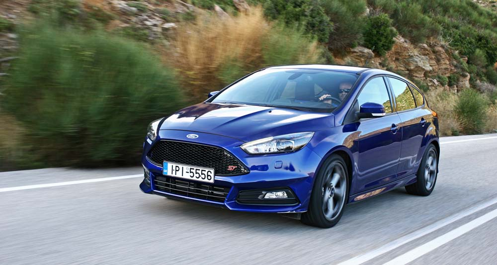 ford focus st test drive. Black Bedroom Furniture Sets. Home Design Ideas