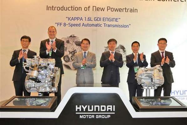 Hyundai Unveils 105PS Engine Hybrid New 8-Speed Auto (1)