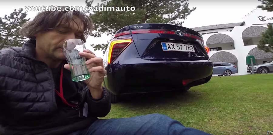 Photo of Τι γεύση έχει το νεράκι που βγάζει ένα Toyota Mirai; [vid]