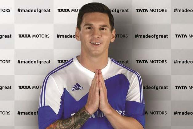 Photo of O Lionel Messi πρεσβευτής της Tata Motors!