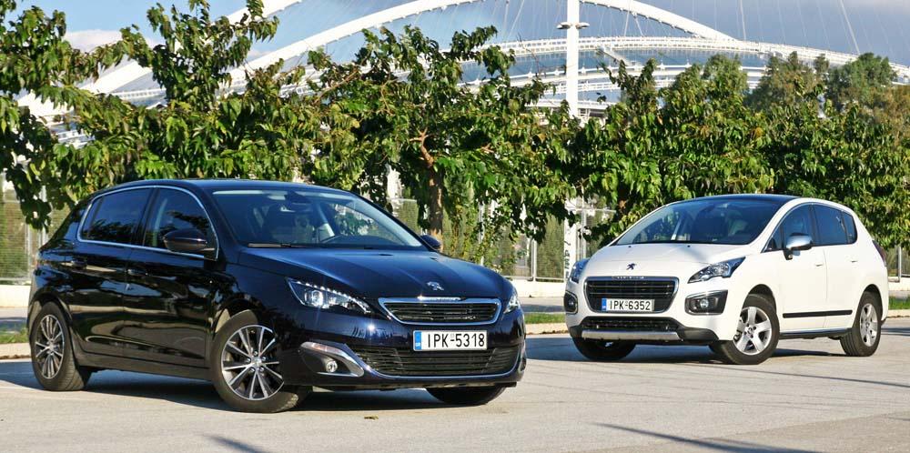 Photo of Peugeot 308 1.6 BlueHDI ΕΑΤ6 VS 3008 1.6 BlueHDI [test drive]