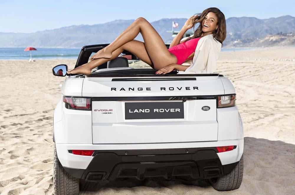 Photo of H Naomie Harris ποζάρει για το ανοιχτό Range Rover Evoque [vid]