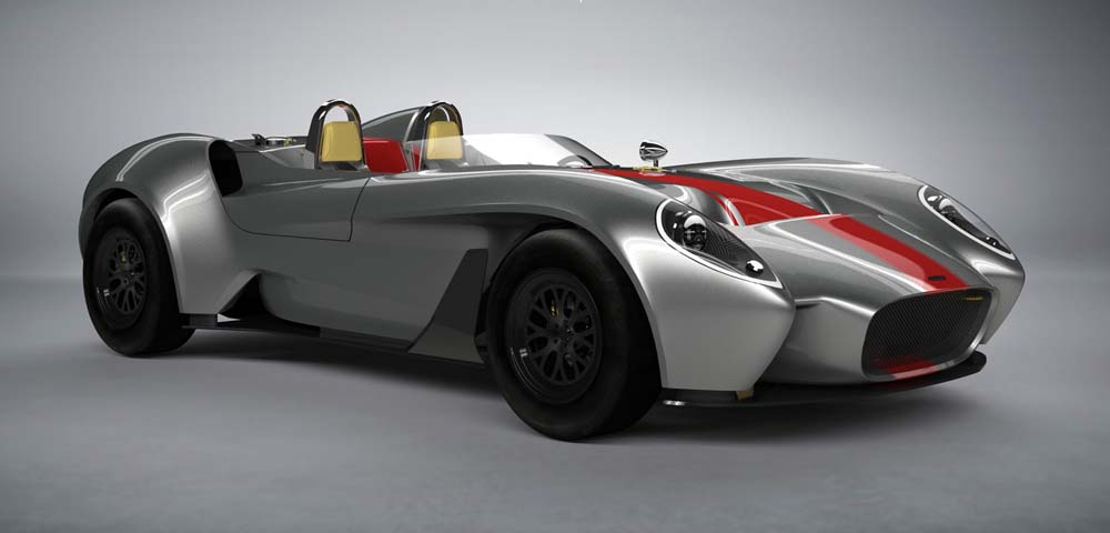 Photo of Ρετρό roadster από την Jannarelly Automotive