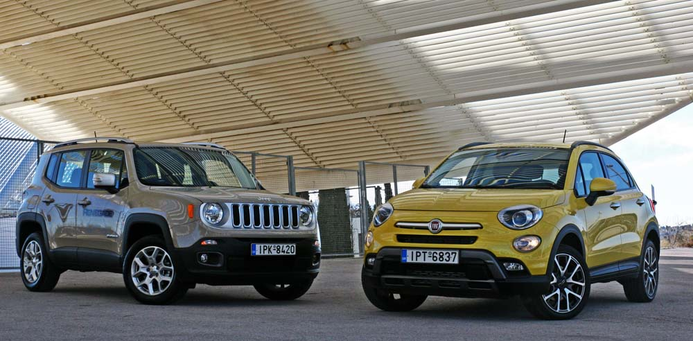 Photo of Fiat 500X vs Jeep Renegade [test drive]