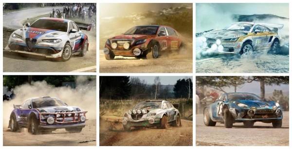 sport rally cars